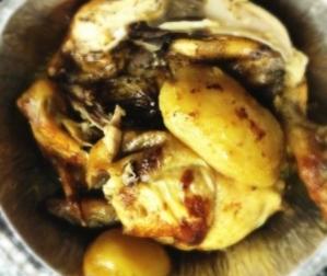 El pollastre a l'ast del diumenge és sagrat